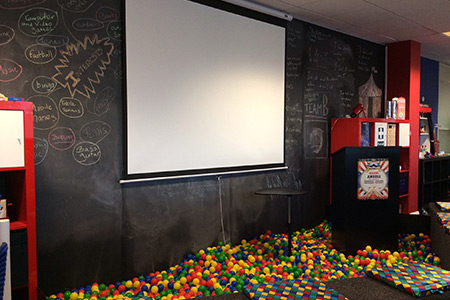 Angel Solutions' circus office
