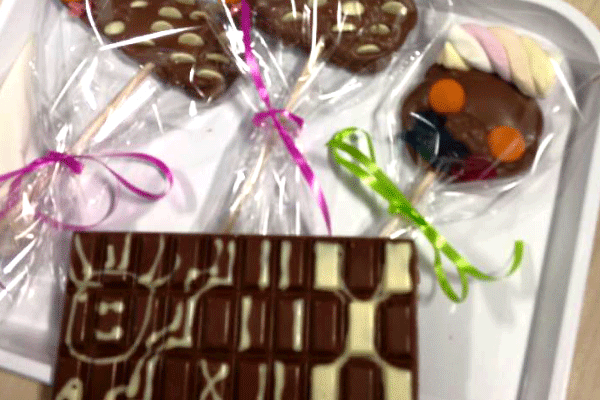 Susan's chocolate creations