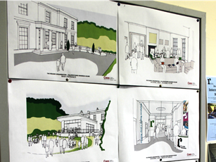 Artists impressions of how The Reader's facilities will look when finished