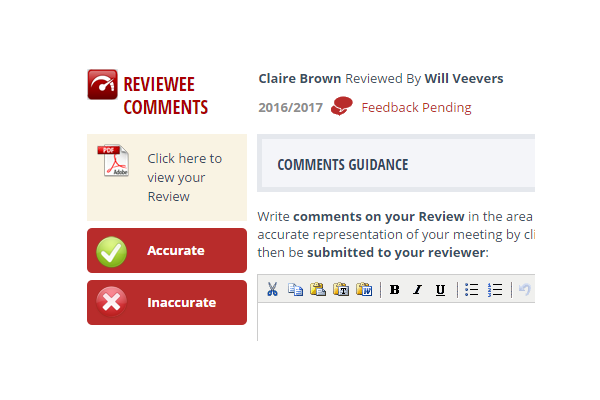 Step 2 - View the draft pdf of your Review