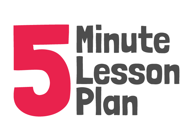 5 Minute Lesson Plan Logo